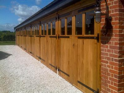 Oak Garages Side View Essex