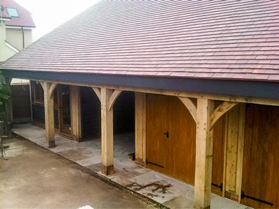 Oak Outbuilding Essex