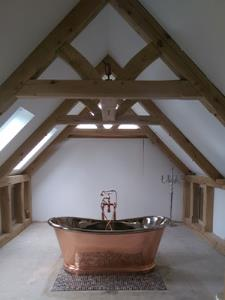 Oak Vaulted Trusses - Essex