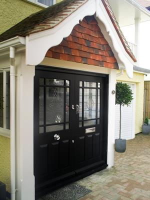 Bespoke  Porch And Double Doors