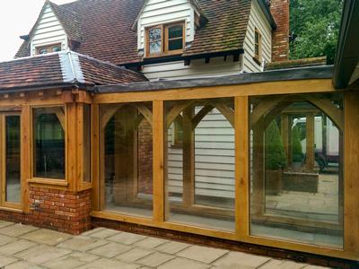 Oak Garden Room With Link