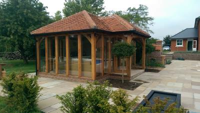 Garden Room Poolside Essex