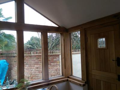 Oak Garden Room - Little Waltham - Inside